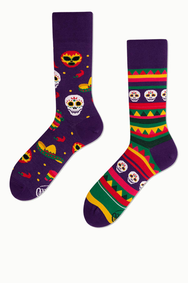 #00033  Many Mornings Socken FIESTA MEXICANA