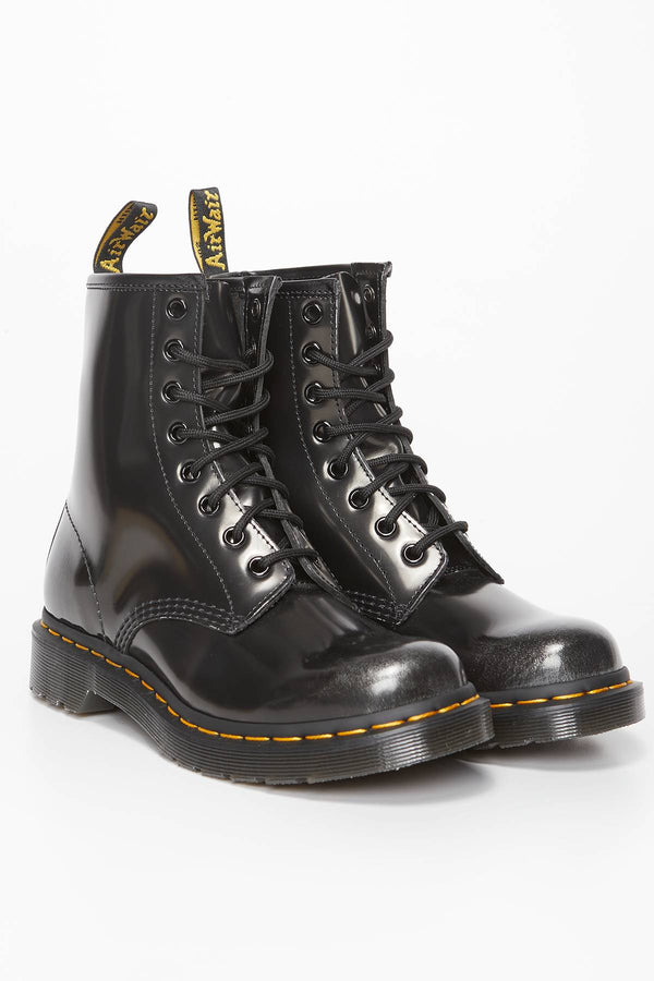 #00057  Dr.Martens High-Top Schuhe 1460 W ARCADIA SILVER SILVER