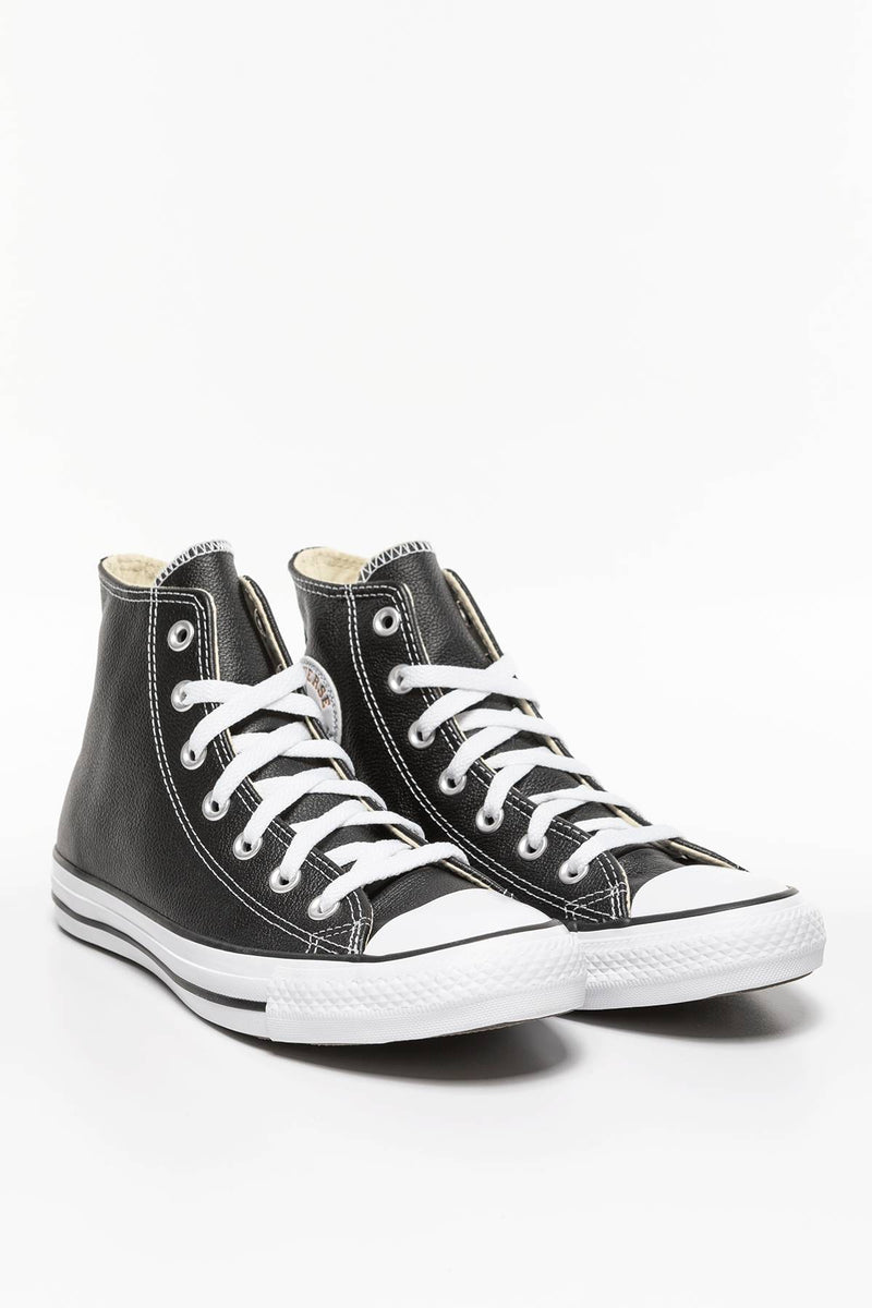 #00127  Converse Turnschuhe CHUCK TAYLOR ALL STAR LEATHER 170 BLACK