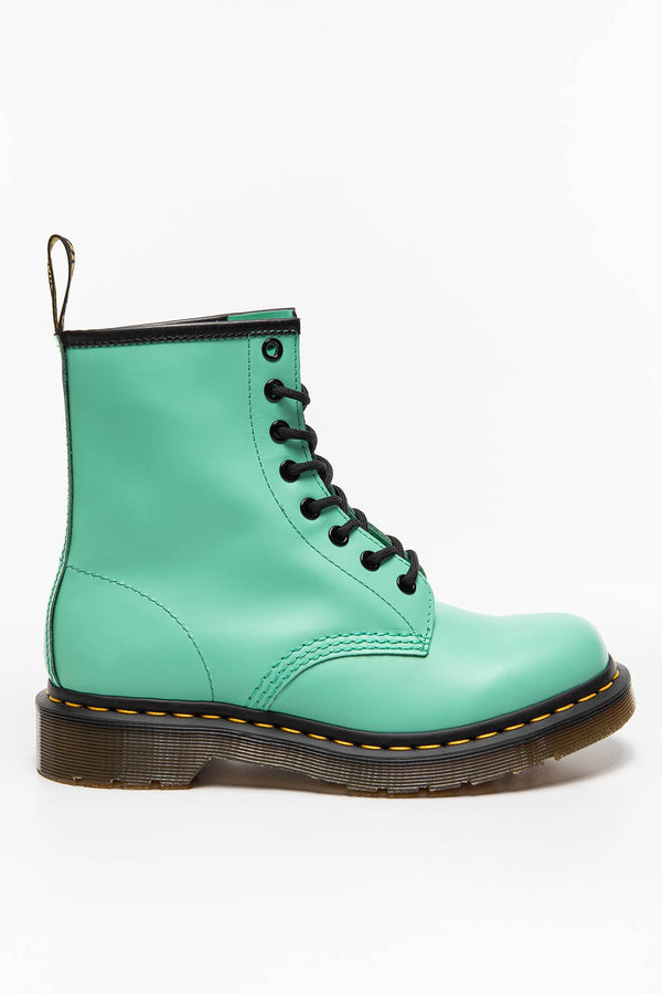 #00025  Dr.Martens High-Top Schuhe 1460 SMOOTH PEPPERMINT GREEN