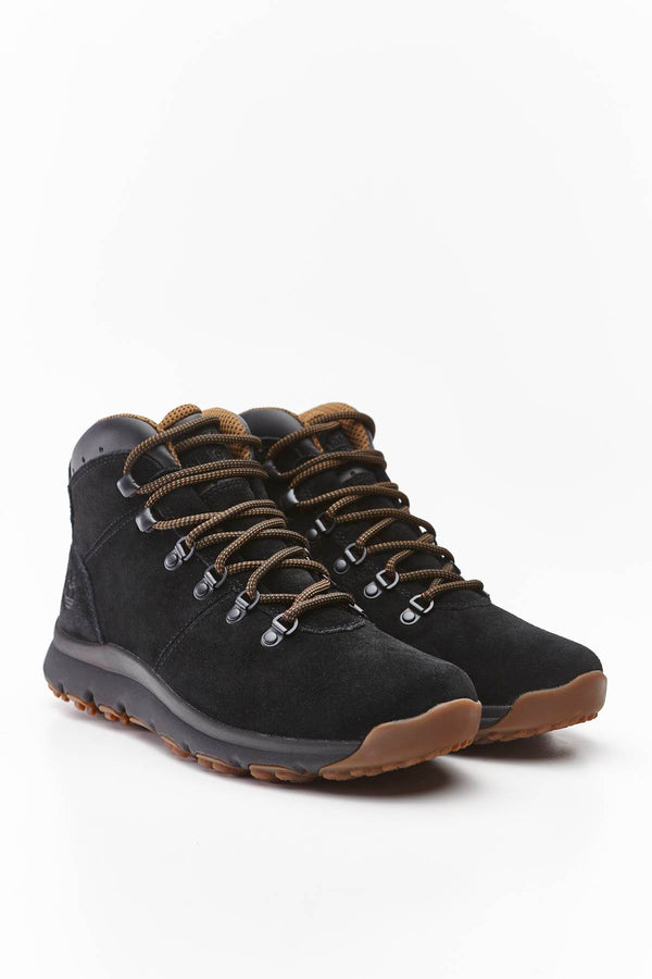 #00035  Timberland Outdoorschuhe WORLD HIKER MID JET BLACK