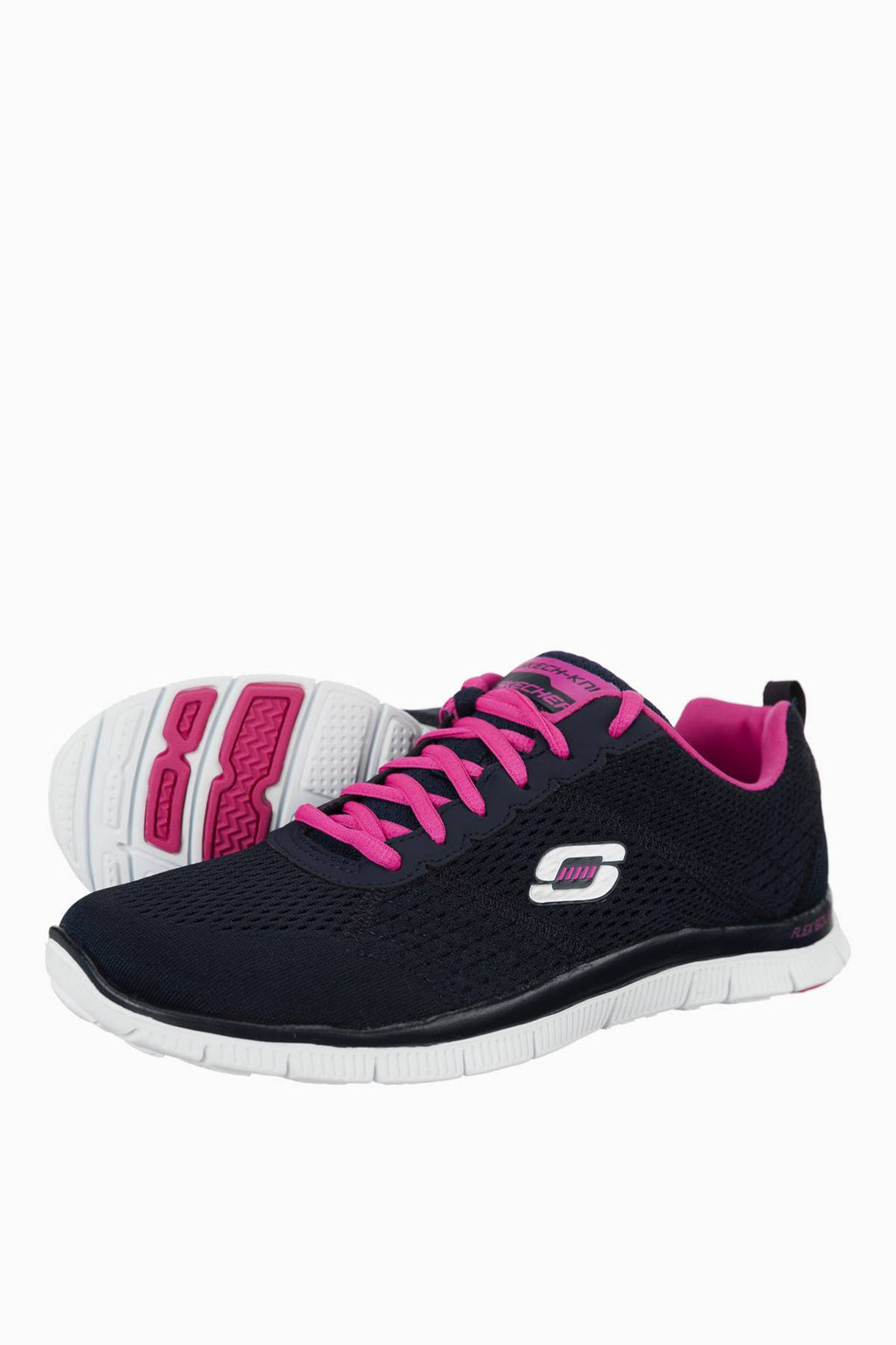 00001 Skechers Trainingschuhe Flex Appeal Obvious Choice