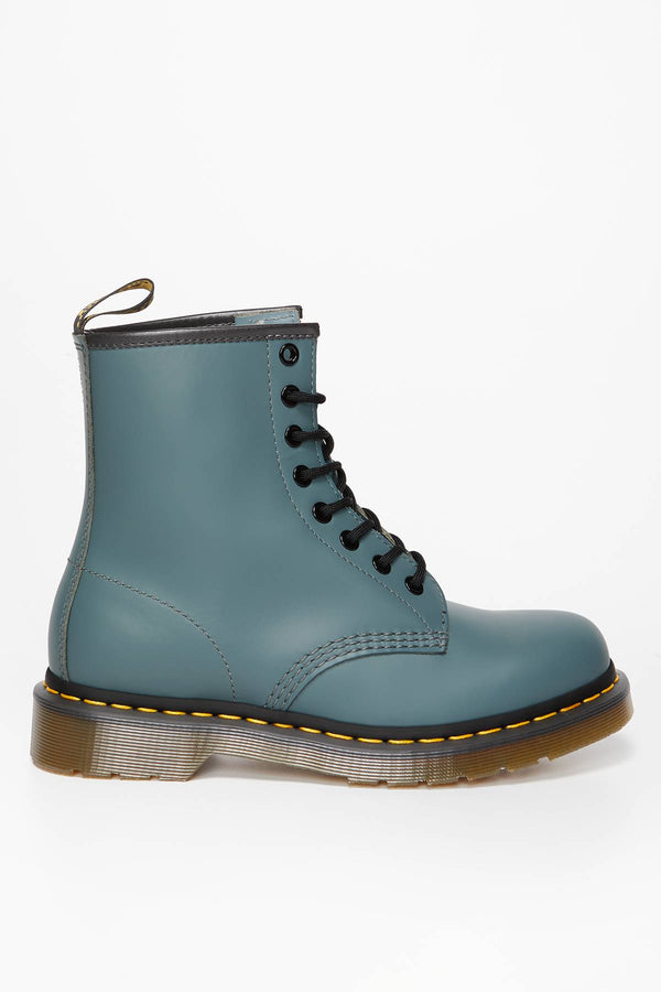 #00082  Dr.Martens High-Top Schuhe 1460 SMOOTH STEEL GREY STEEL GREY