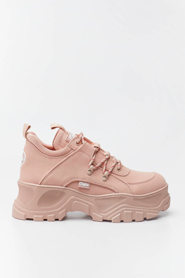 #00016  Buffalo Sneakers GLDR CT 039 ROSE