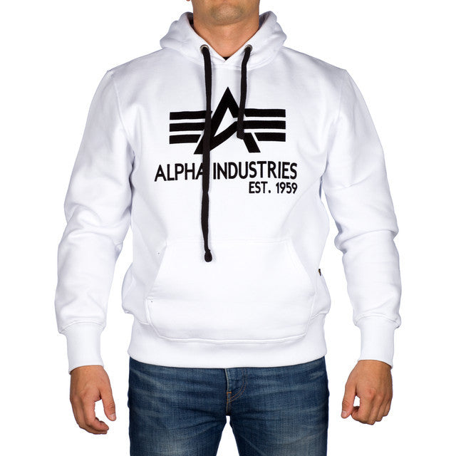 #09079  Alpha Industries Bluse Big A Classic Hoody 809