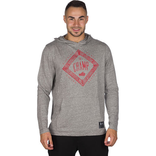 #05553  Under Armour Bluse CASSIUS CLAY TRIBLEND HOODIE 082