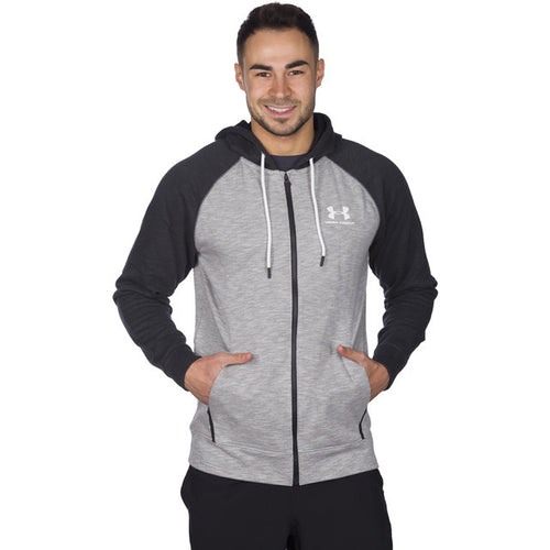 #01455  Under Armour Bluse Sportstyle F Z Tri Hood 035