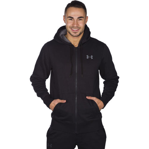 #01452  Under Armour Bluse Strom Rival Cotton Full Zip 001