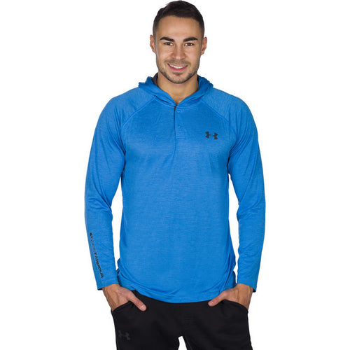 #04753  Under Armour Bluse TECH POPOVER HENLEY BLE 787