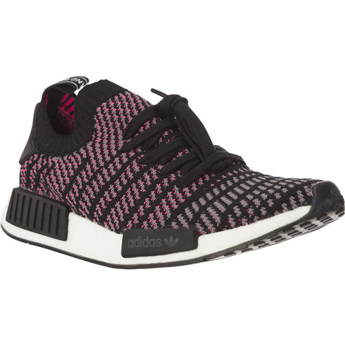 #00800  adidas Sneakers NMD R1 STLT PRIMEKNIT CORE BLACK/GREY FOUR/SOLAR PINK