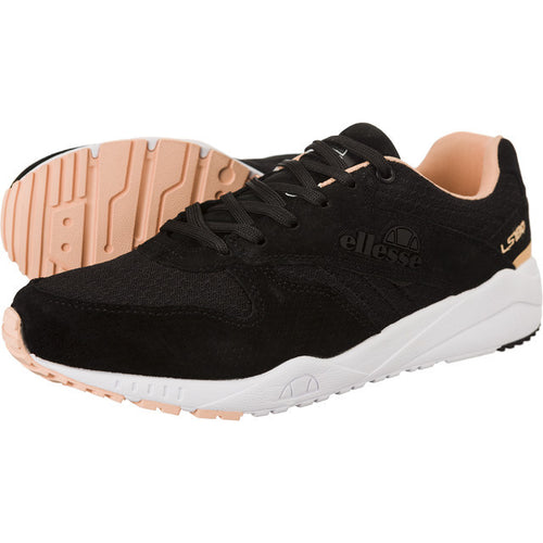 #00387  Ellesse Sneakers LS180 TRAINER BLACK PINK 234