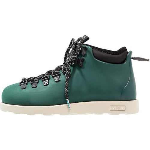 #00259  Native High-Top Schuhe Fitzsimmons Botanic Green/Bone White 3095