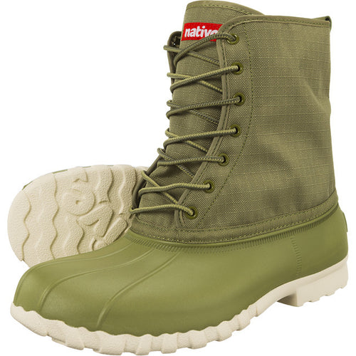 #00271  Native High-Top Schuhe Jimmy Bunker Green 016