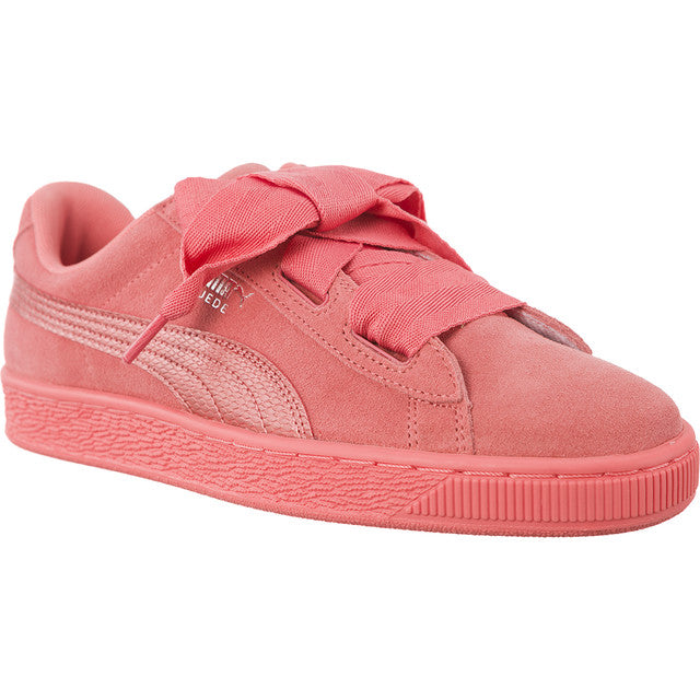 best authentic 104a0 e3478 #05770 Puma Sneakers SUEDE HEART SNK SHELL PINK/SHELL PINK