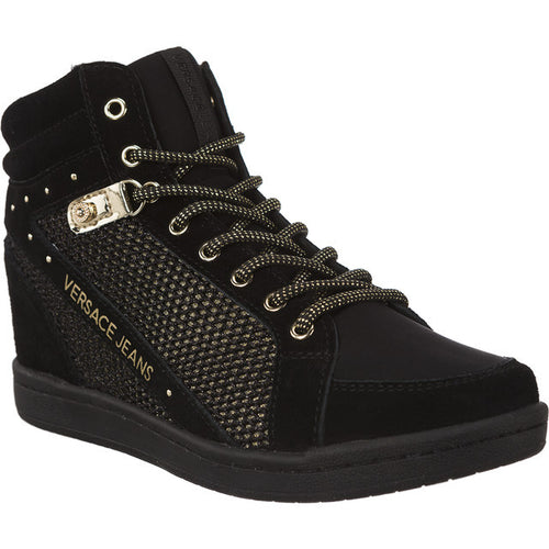 #00890  Versace Jeans High-Top Schuhe Linea Wedge Dis 12 M27