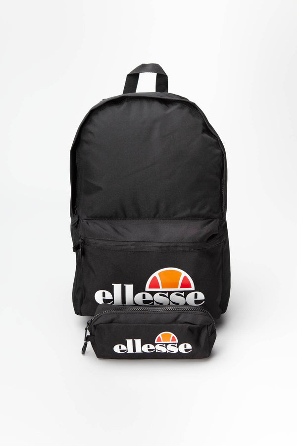 #00040  Ellesse Rücksack ROLBY BACKPACK & PENCIL CASE BLACK