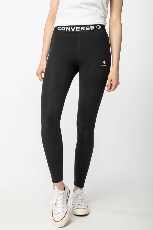 #00163  Converse Leggins 10018942-A01 BLACK