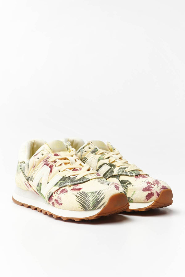 #00024  New Balance Sneakers WL574WOP WHITE