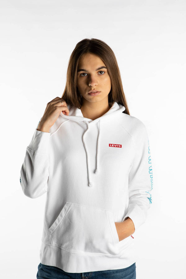 #00008  Levi's Bluse STAR WARS GRAPHIC SPORT HOODIE 0151 WHITE