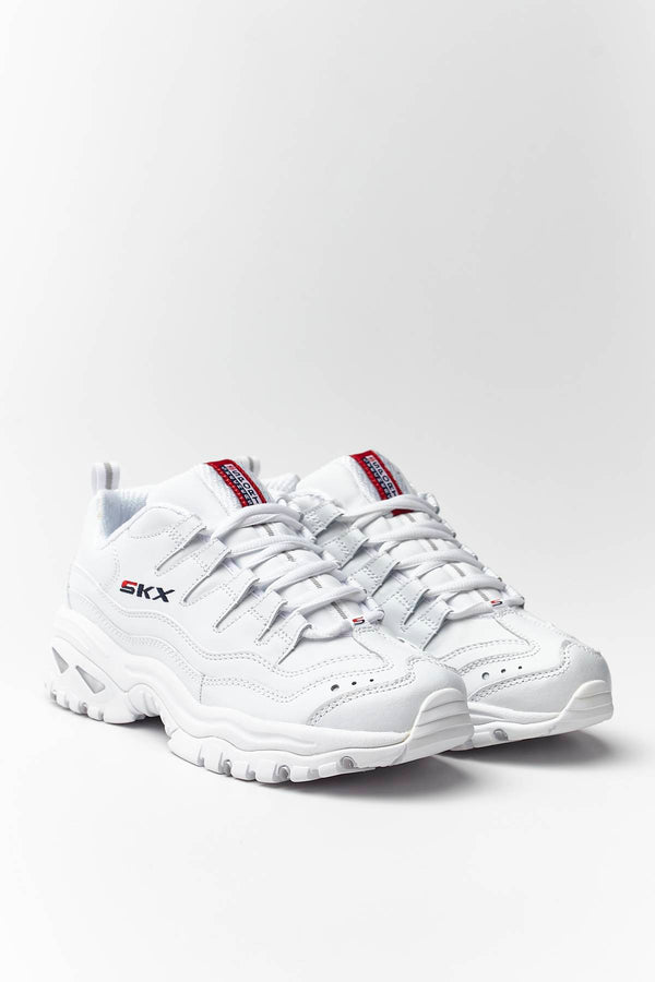 #00002  Skechers Sneakers ENERGY – TIMELESS VISION WML WHITE/MILLENNIUM