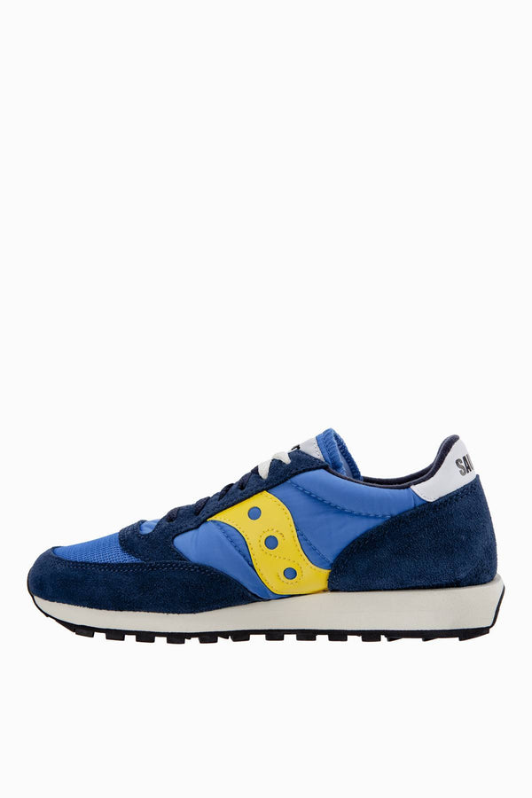 #00002  Saucony Sneakers JAZZ ORIGINAL VINTAGE BLUE/YELLOW