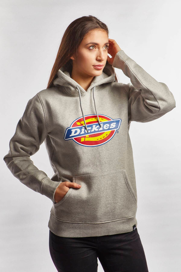 #00018  Dickies Bluse SAN ANTONIO HOODY GYM GREY MELANGE