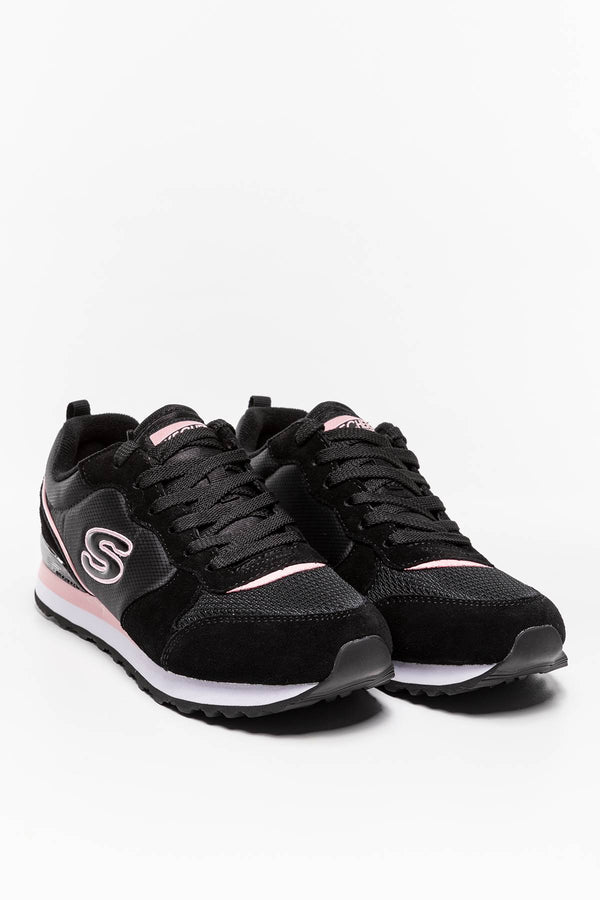 #00005  Skechers Sneakers STEP N FLY 155287 BLACK/PINK