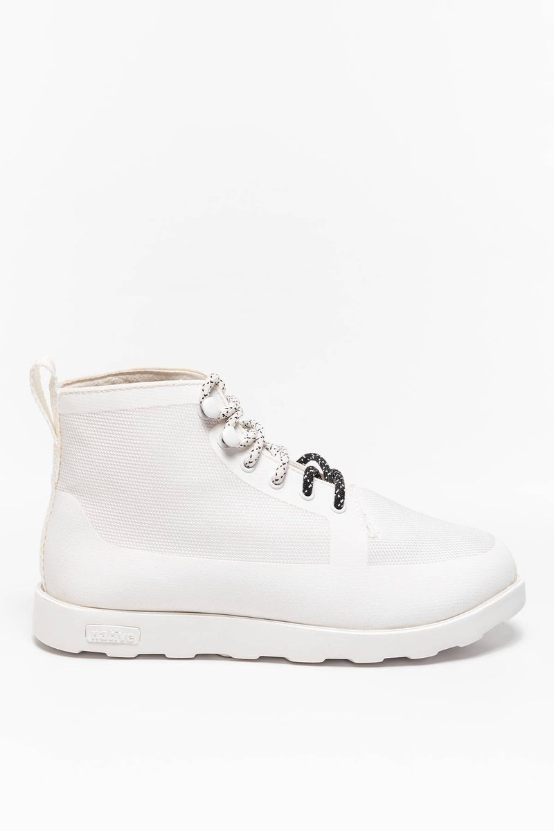 #00023  Native High-Top Schuhe Fitzroy Shell White 1999