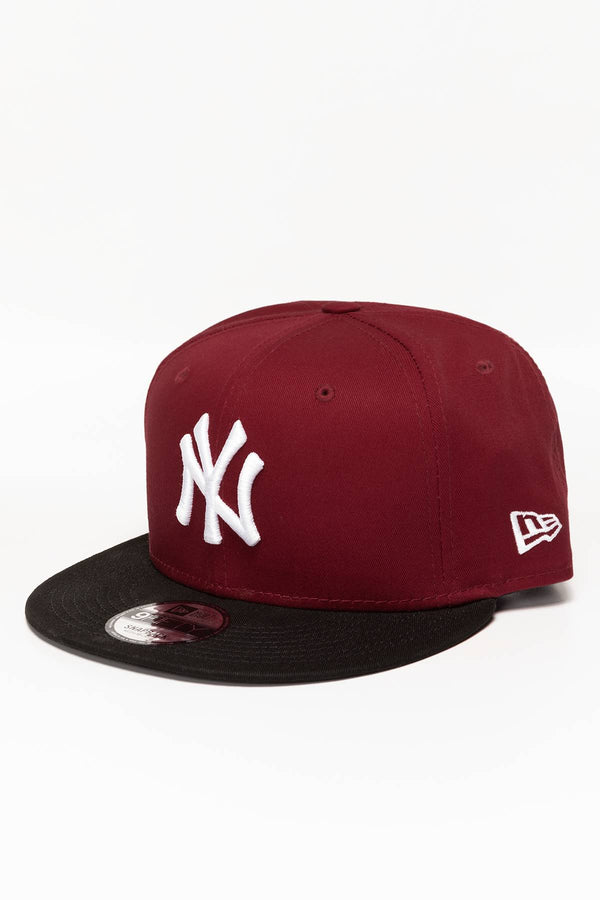#00003  New Era COLOUR BLOCK 9FIFTY NYY RED 12122745 RED/BLACK/WHITE