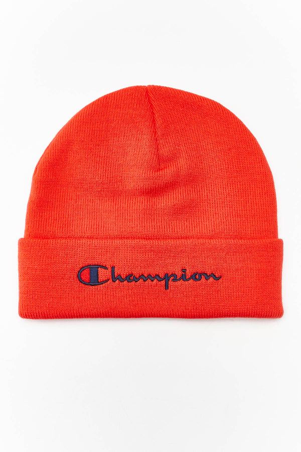 #00004  Champion Mütze BEANIE CAP PS118 RED