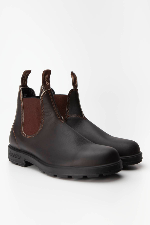 #00002  Blundstone High-Top Schuhe 500 STOUT BROWN