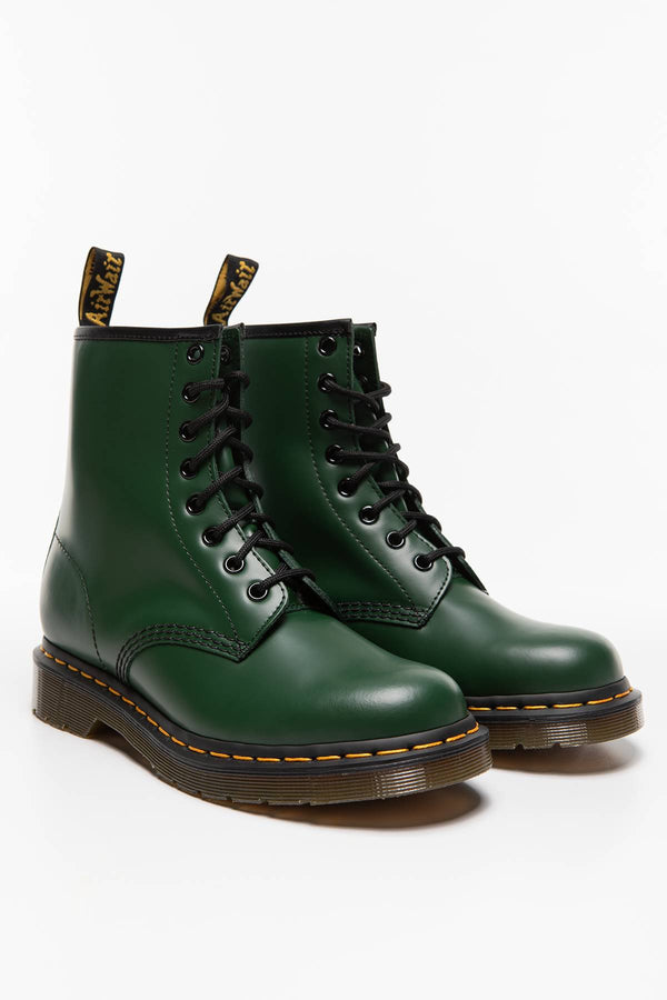 #00030  Dr.Martens High-Top Schuhe 1460 SMOOTH DM11822207 GREEN