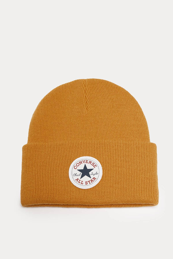 #00191  Converse Mütze 10019012-A10 Tall Chuck Patch Beanie YELLOW
