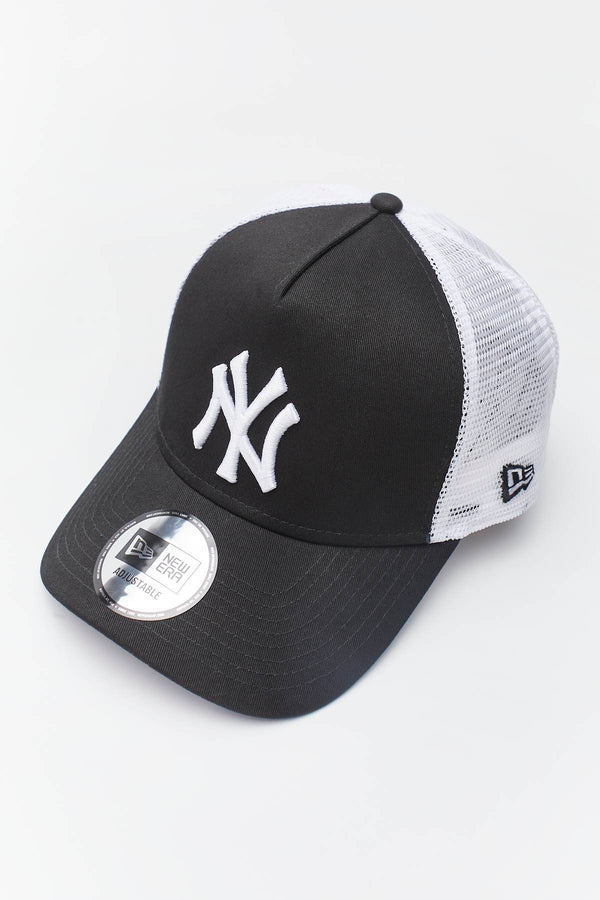 #00020  New Era CLEAN TRUCKER 491 BLACK/WHITE