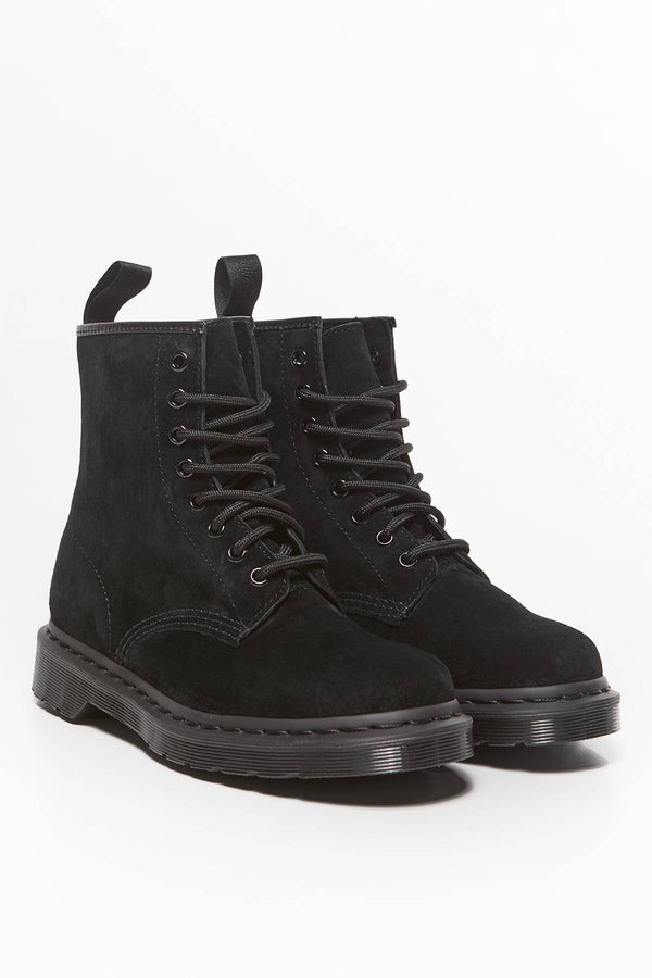 #00031  Dr.Martens High-Top Schuhe 1460 Mono Soft Buck BLACK