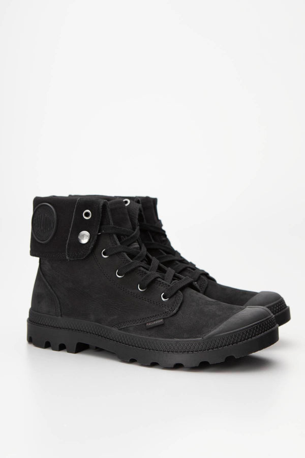 #00025  Palladium High-Top Schuhe PAMPA BAGGY NUBUCK Black