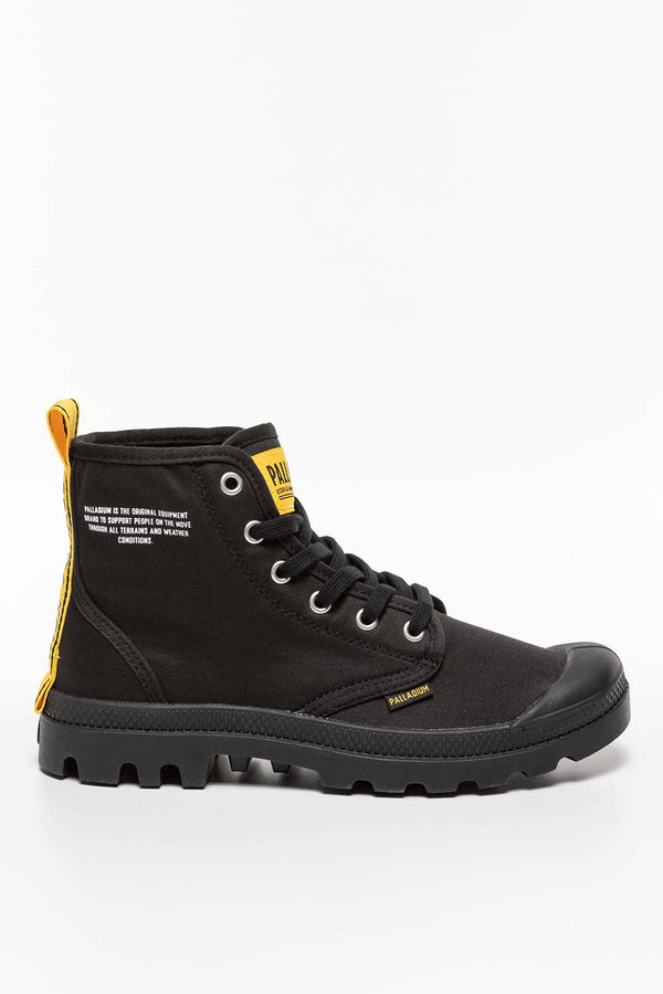 #00001  Palladium High-Top Schuhe PAMPA HI DARE SAFETY 746 BLACK