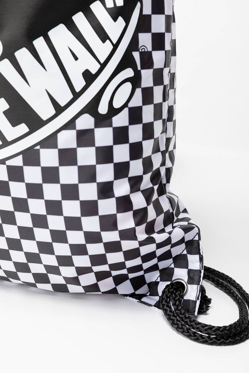 #00043  Vans BENCHED BAG 56M BLACK/WHITE