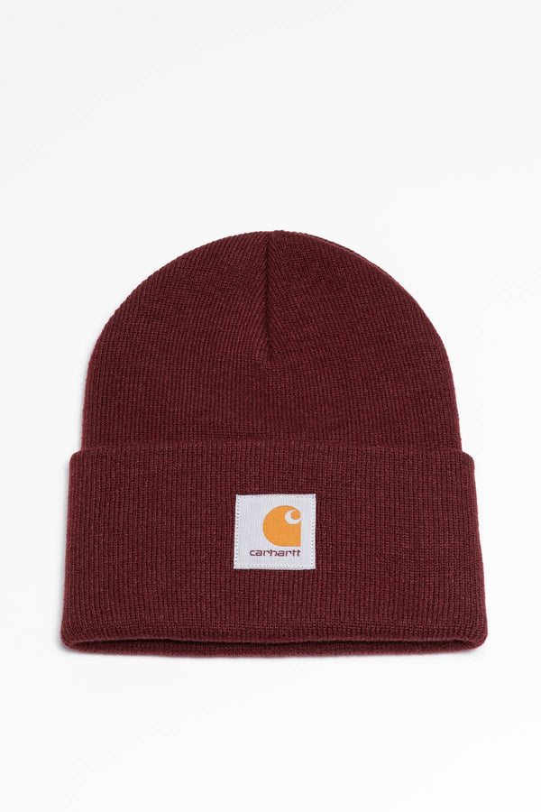 #00103  Carhartt WIP Mütze Acrylic Watch Hat D00 BORDEAUX