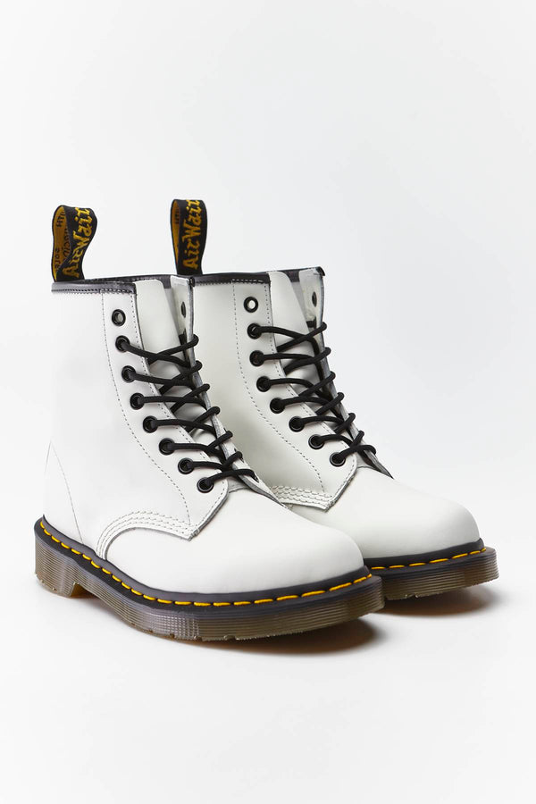 #00015  Dr.Martens High-Top Schuhe 1460 White DM10072100