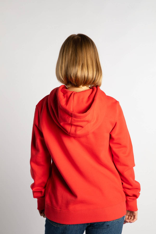 #00006  Champion Bluse HOODED SWEATSHIRT PS118 RED