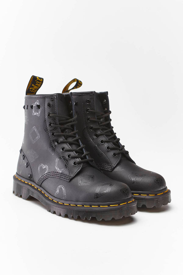 #00002  Dr.Martens High-Top Schuhe 1460 BEN BLACK WEIDLER