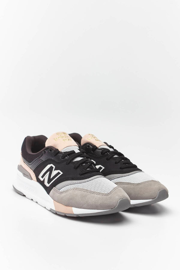 #00003  New Balance Sneakers CW997HAL BLACK WITH SMOKED SALT