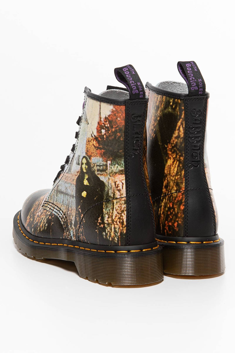 #00030  Dr.Martens High-Top Schuhe 1460 Black Sabbath MULTI/BLACK MULTI/BLACK