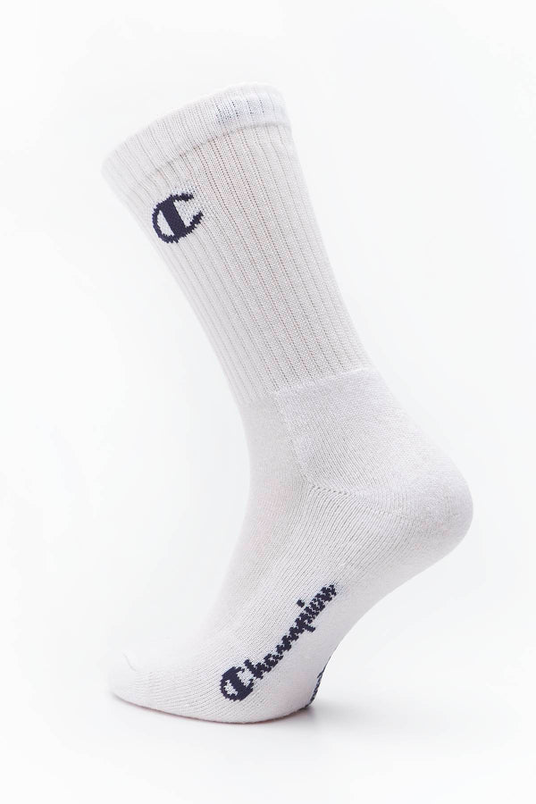 #00054  Champion Socken CREW SOCKS WW001 WHITE