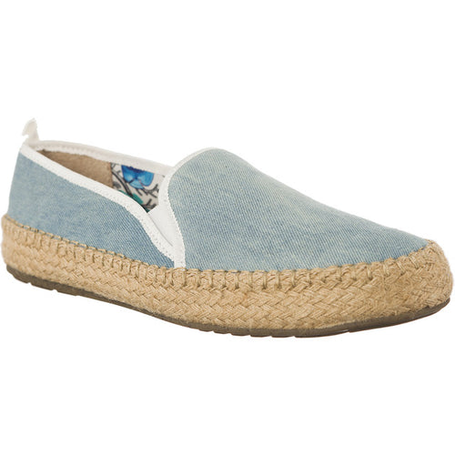 #04027  EMU Australia Espadrilles GUM LIGHT DENIM DISTRESS