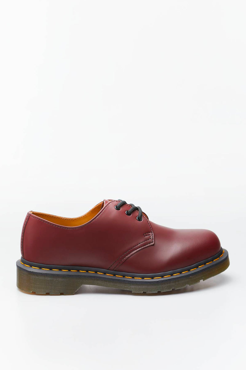 #00040  Dr.Martens Halbschuhe 1461 SMOOTH CHERRY RED