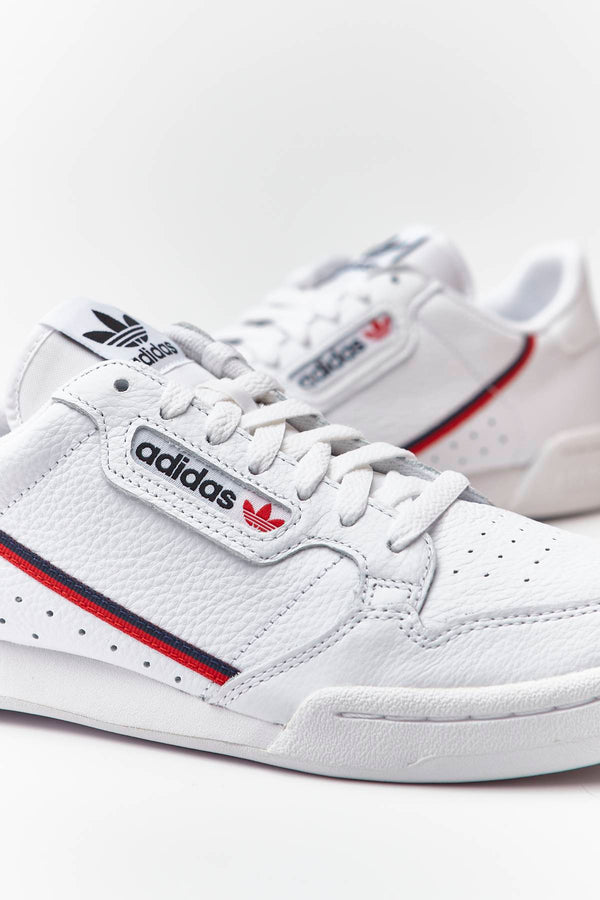 #00184  adidas Sneakers CONTINENTAL 80 706 CLOUD WHITE/SCARLET/COLLEGIATE NAVY
