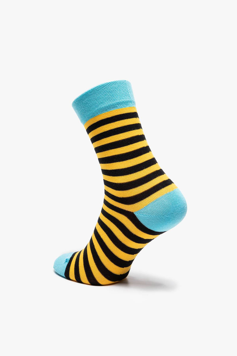 #00078  Many Mornings Socken Bee bee