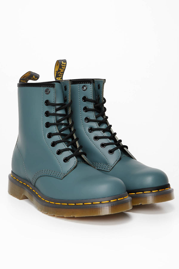 #00121  Dr.Martens High-Top Schuhe 1460 SMOOTH STEEL GREY STEEL GREY